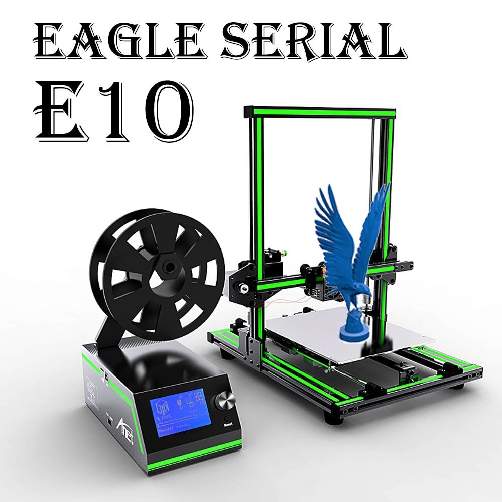 Anet Eagel série E10 E12 E16 imprimante 3D de bureau cadre en aluminium haute précision Reprap Prusa i3 grande taille bricolage 3D imprimante ensemble