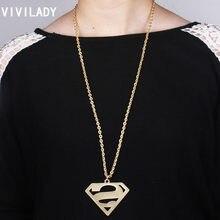 8554a90c2759 Vivilady moda triángulo Colgantes Collares mujeres cadena larga mate color  oro joyería libre invierno traje bijoux regalo