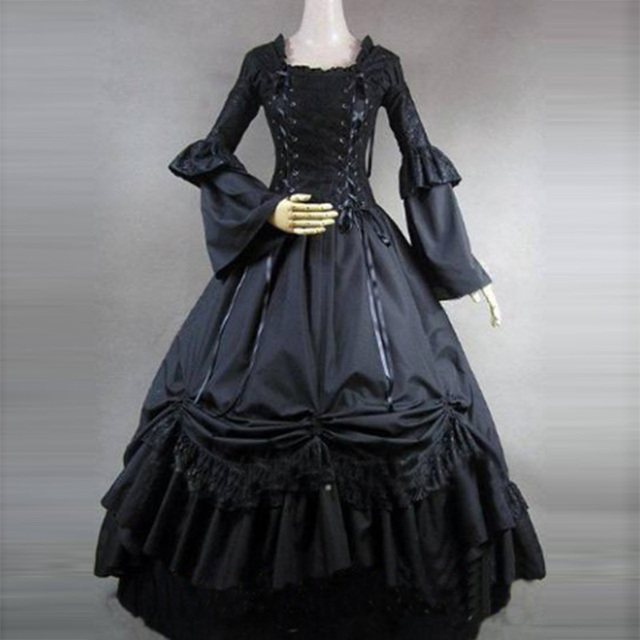 Long Sleeve Dresses for Masquerade