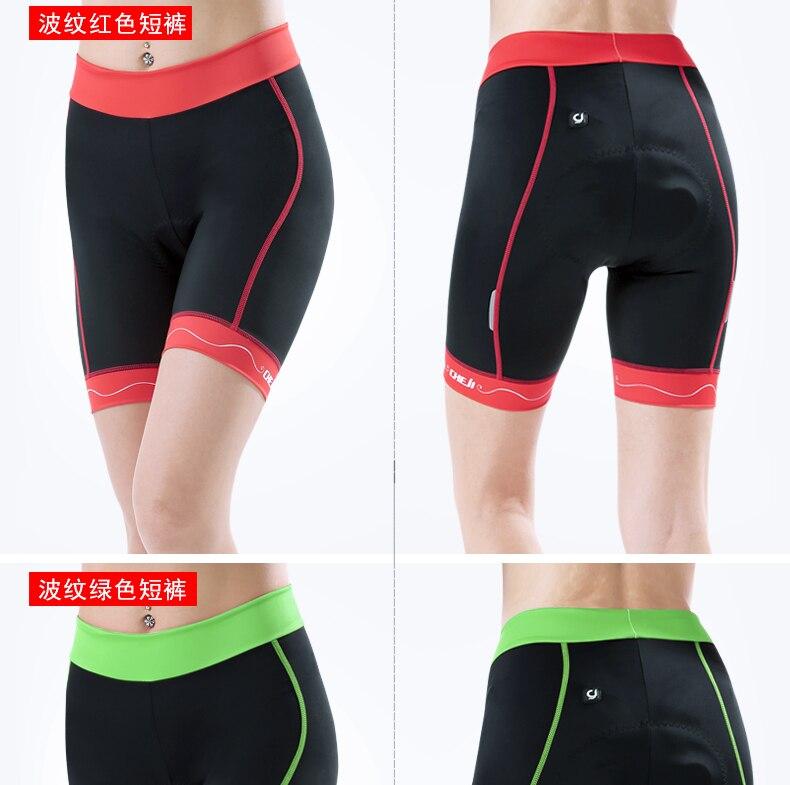 2a03bd0aaee9 ∞Cheji Camisa das Mulheres Verão Equitação Shorts Mountain Bike ...