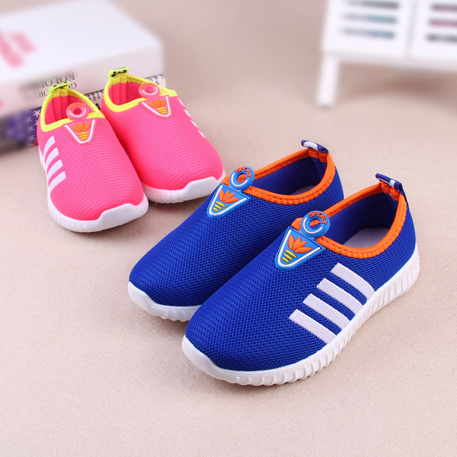 Boys Kids Running Shoes Walking Breathable PU Rubber Sport Shoes Boys Spring Autumn Kids Sneakers Girls Children Online Stores