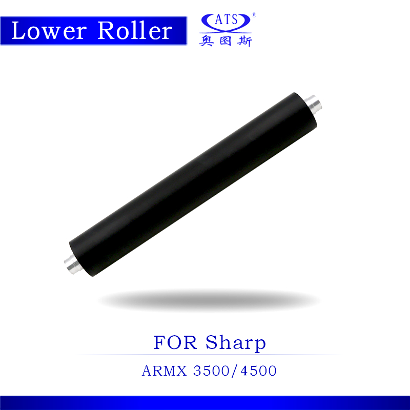 1PCS Photocopy Machine Lower Pressure Fuser Roller For Sharp MX 3500 4500 Copier Parts MX3500