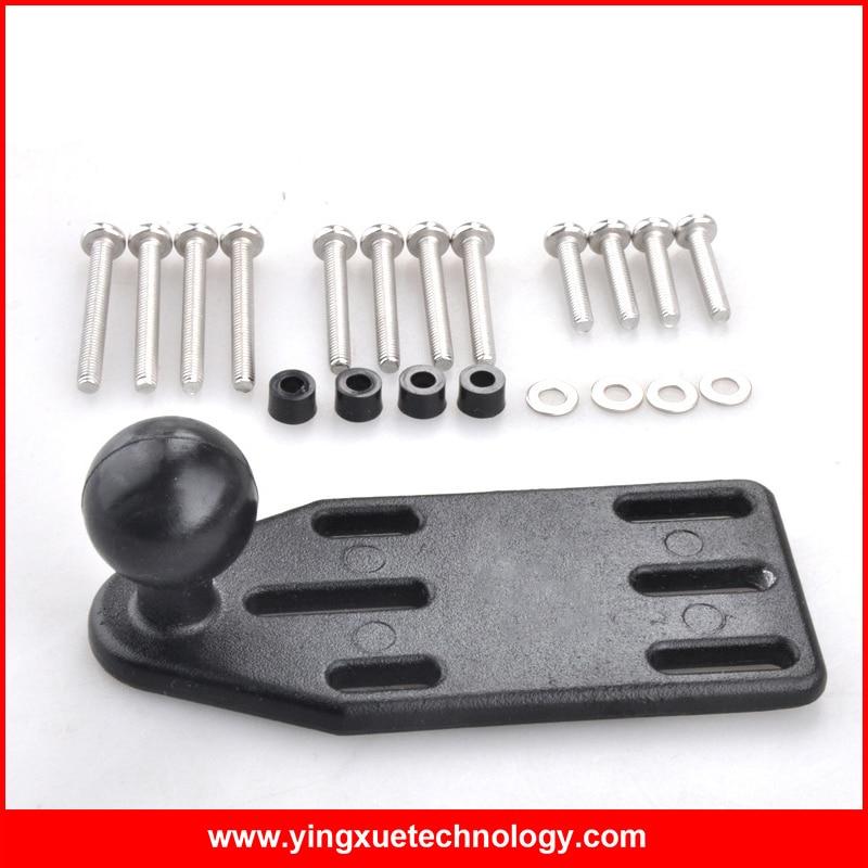 """bilder für Motorrad Aluminium Bremse/Kupplung Hauptbremszylinder-abdeckung Basis mit 1 """"Gummiball"""