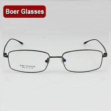 New Light Pure Titanium Eyeglasses frame RX Eyewear Mens Full Rim Glasses BN 9068