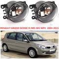 Для renault GRAND SCENIC 2 2003-2009 Передний бампер Противотуманные Фары Галогенные фары автомобиля укладки 35500-63J02