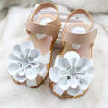 2016 new fashion baby sandals sweet baby shoes flower sandals girls shoes sandals size 21-25 sandalia infantil
