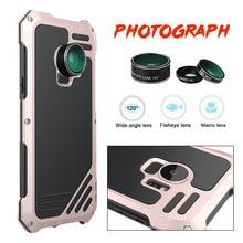 ФОТО macro lens camera hybrid armor cover for samsung galaxy s9 plus cases metal shockproof case for samsung galaxy s9 plus coque