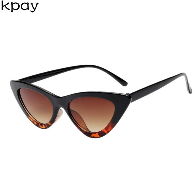 2018 High Quality Small Cat Eye Sunglasses Women Brand Designer Retro Sunglass Female Sun Glasses For Women Lady Sunglass Mirror