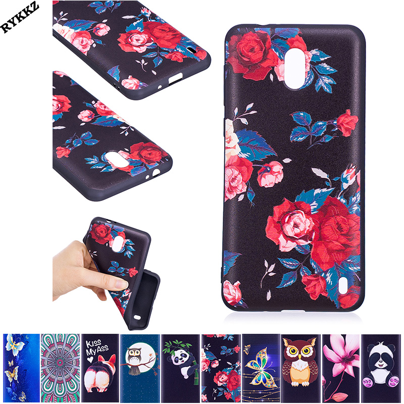 2018 Hot luxury Silicon Soft TPU Thin Back Covers For Nokia 2 5.0 inch Dual phone bumper fitted for Nokia2 coque case