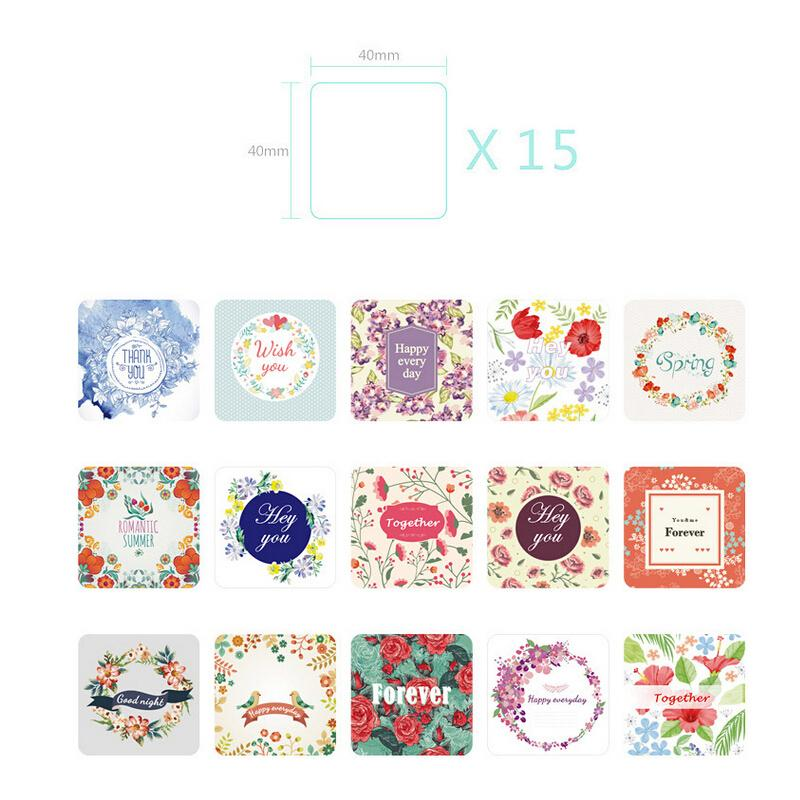 Straightforward 38 Pcs/pack Diy Flower Print Pad Paper Sticker Toy Lovely Gift Sticker Girl Diary Decoration Scrapbooking Sales Of Quality Assurance Notebooks & Writing Pads Office & School Supplies