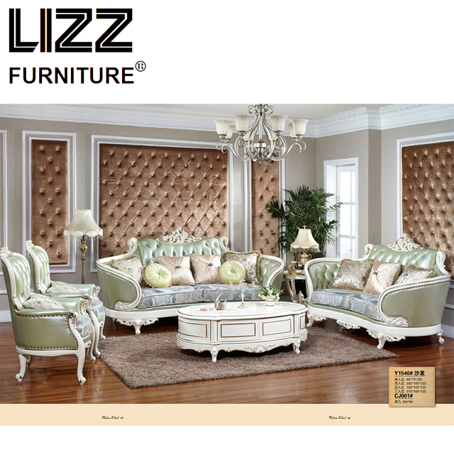 Chesterfield Sofa Royal Furniture Set Living Room Antique Style Loveseat Armchair Home Luxury