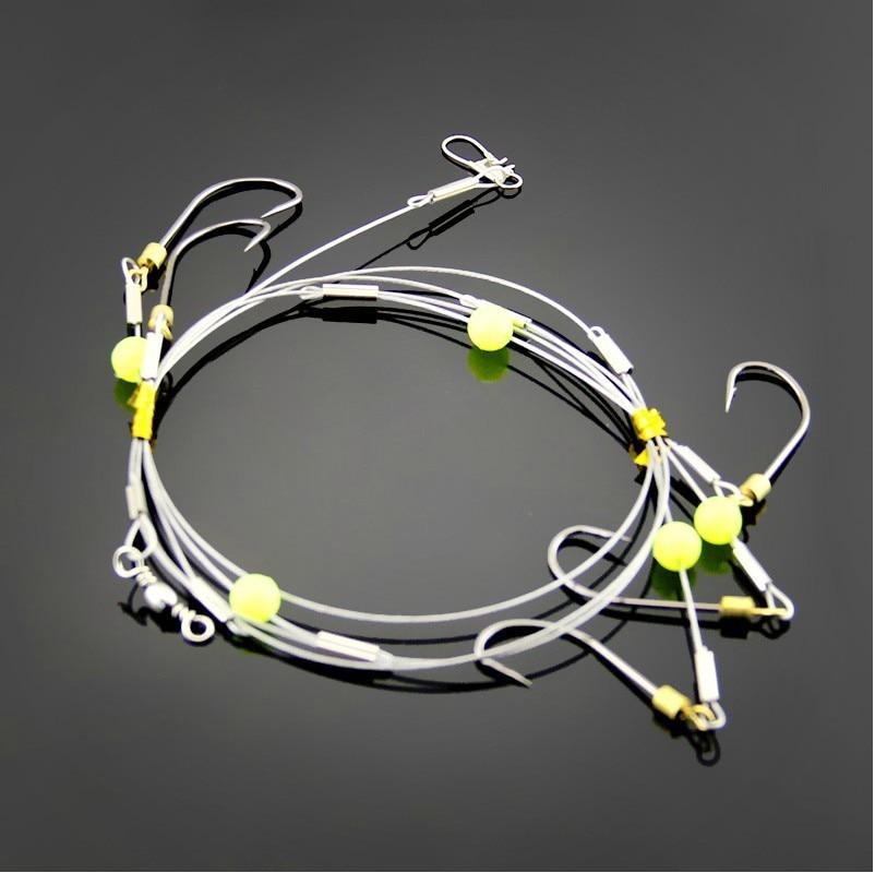 Qualität special design explosion 1 teile / satz spinner haken string Capture fähigkeit setfishing köder angelschnur anschluss box
