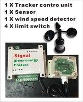 dual axis sun tracker pan tilt system solar tracker controller