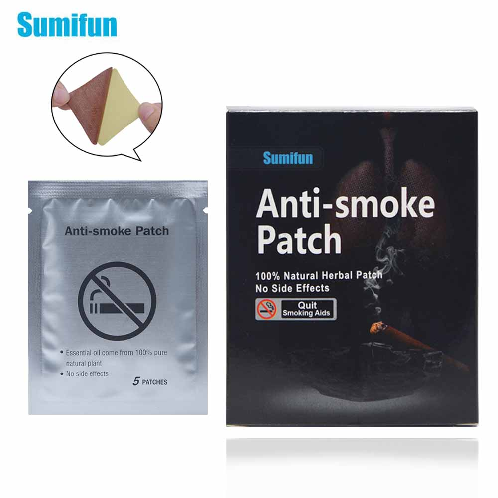 35 Patches Sumifun Stop Smoking Anti Smoke Patch for Smoking Cessation Patch 100% Natural Ingredient Quit Smoking Patch K01201(China)