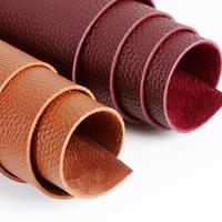 1 9mm Thickness Pu Suede Leather Fabric High Quality Artificial Leather For Sewing Bags Shoes Belt
