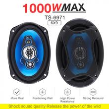 1 Pair 6x9 Inch 1000W 2 Way Car Coaxial Auto Audio Music Ste