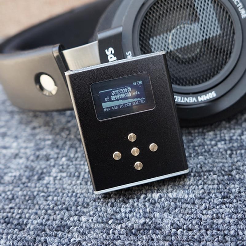 Zishan Z3 AK4493 DIY MP3 HIFI DSD Professional MP3 HIFI Music Player Support Headphone Amplifier DAC AK4493 DSD256 With OLED(China)