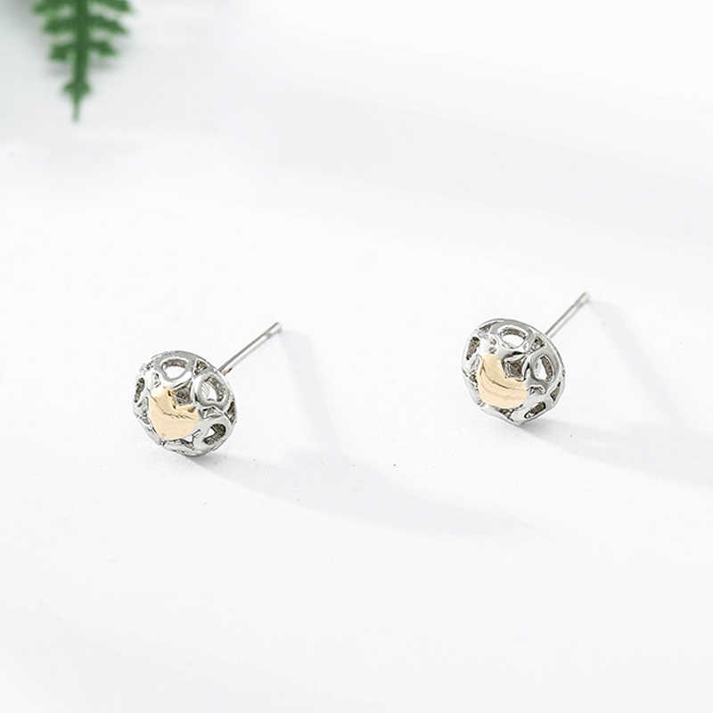 8534f53e6 CHIELOYS Fashion Sparkling Silver Plated Petals of Love, Clear CZ Pandora  Stud Earrings for Women