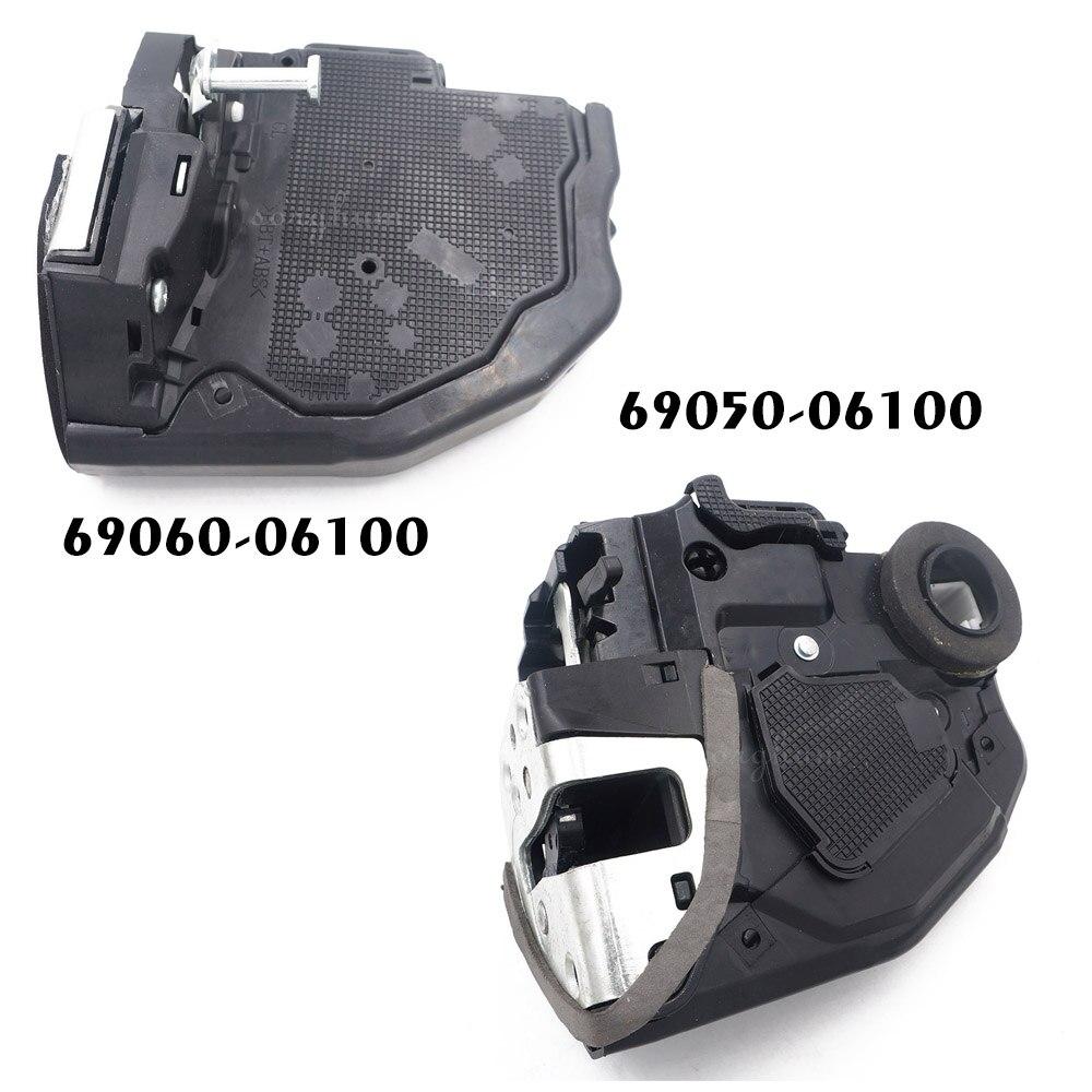 Pair(2pcs) 69060-06100 69050-06100 For Power Door Lock Actuators Door Latch Rear Left & Right RL 07-16 Camry 2pcs left