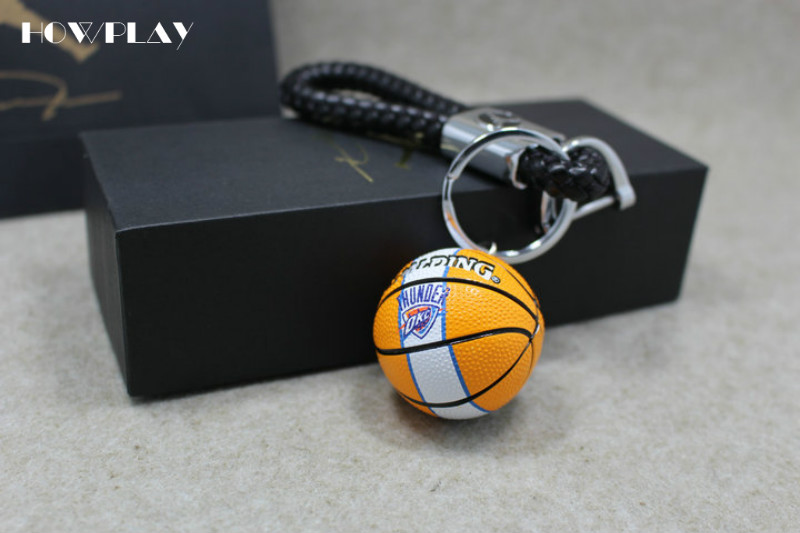 9317601937 Howplay Basketball model keychain pendant car bag basketball fan ...