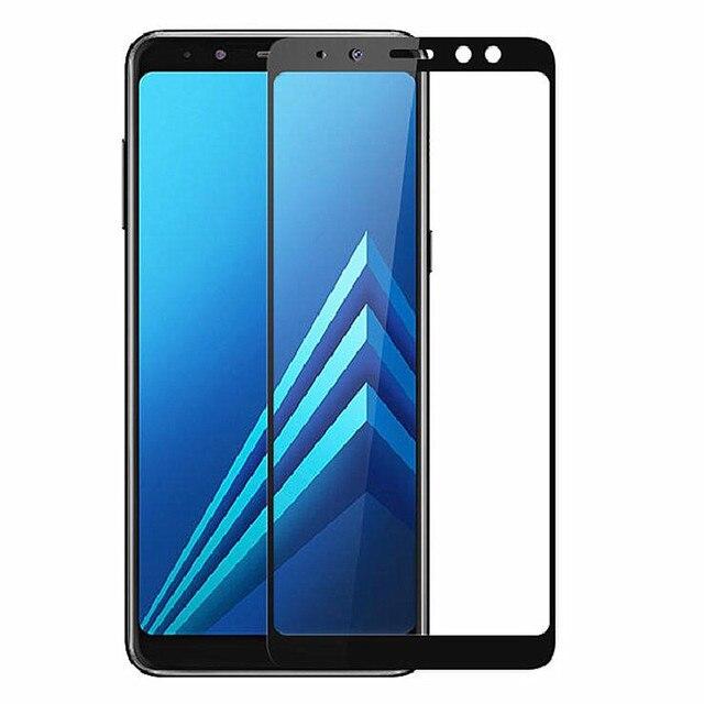 Gehartetem Glas Screen Protector Fur Samsung Galaxy A6 A8 Plus J4 J6
