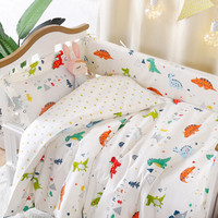 4Pcs/Set Cotton Breathable Baby Bedding Bumper Collision Protector Baby Bumper Crib Set Safety Rails Bedding Supplies
