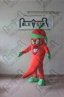צ 'ילי פלפל חמה תלבושות קמע תחפושות קריקטורה תחפושות ירקות ללא קסדה