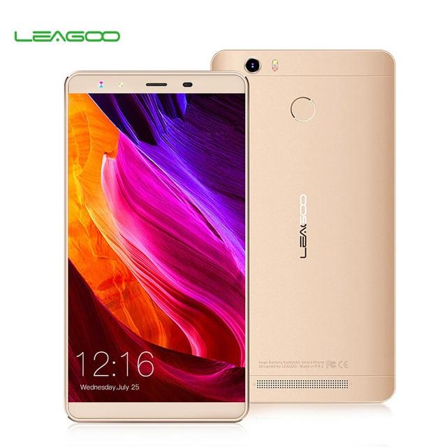 Leagoo Shark 1 4G, 6-дюймовый экран LTE 2,5D, операционная система Android 5.1, ОЗУ 3 Гб + 16 Гб, восьмиядерный процессор MTK6753, смартфон с системой идентификации по отпечатку пальца с камерой 13 мегапикселей