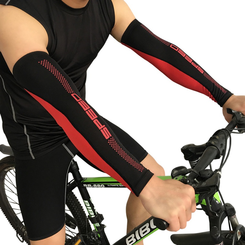 Summer Running Cycling Arm Warmers UV Sun Protection Sleeve Cover Spider Web