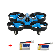 (With two batteries ) JJRC H36 6-axis Gyro Headless Mode Mini RC Quadcopter Drone RTF 2.4GHz Good children's toy