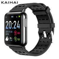 KAIHAI H69 ECG PPG SpO2 HRV activity tracker sport fitness salute smart watch uomini elettronico misurazione della pressione arteriosa di ossigeno Nel Sangue Del Cuore rate monitor dispositivi di Allarme orologio indos