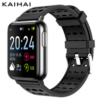 KAIHAI H69 ECG PPG SpO2 HRV fitness health smart watch men electronic blood pressure measurement Heart rate monitor smartwatch