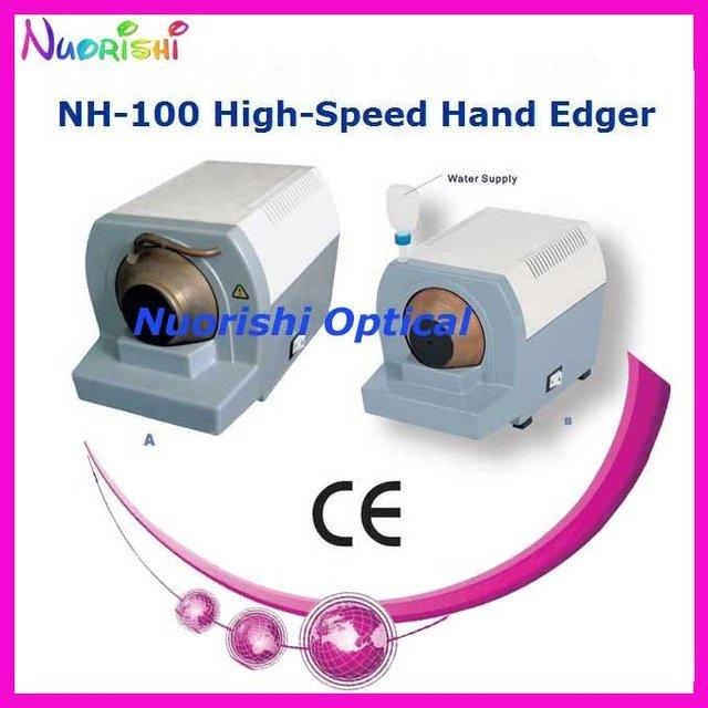 NH-100 De Alta Velocidade Da Mão Edger Lente Manual Máquina de Moer Ferramenta Mais Baixos Custos de Envio!