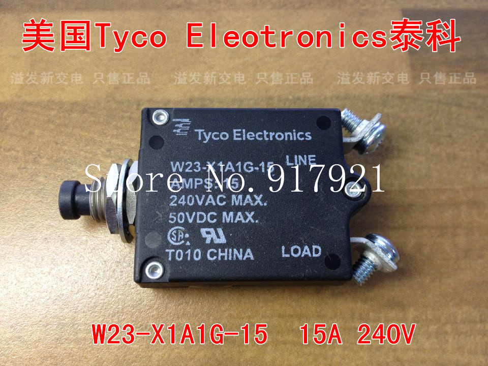 [ZOB] The United States Tyco EIectronics W23-X1A1G-15 15A 240V equipment Tyco thermal switch --10PCS/LOT