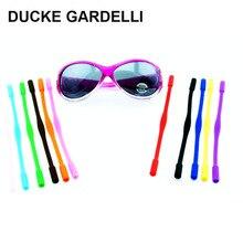 e91c61ec4a4 DUCKE GARDELLI chico de alta elasticidad antideslizante de silicona gafas  de sol cordones niños gafas cadena cordón soporte cuer.