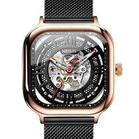 Schweiz Luxus Marke männer Uhren NESUN Automatische Mechanische Uhr Skeleton Uhr Männer Wasserdichte relogio masculino N9500 4-in Mechanische Uhren aus Uhren bei