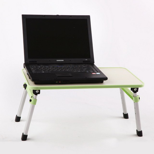 Height Adjule Laptop Table Computer Notebook Bed Stand Folding Lapdesk For All Within 17 Inch