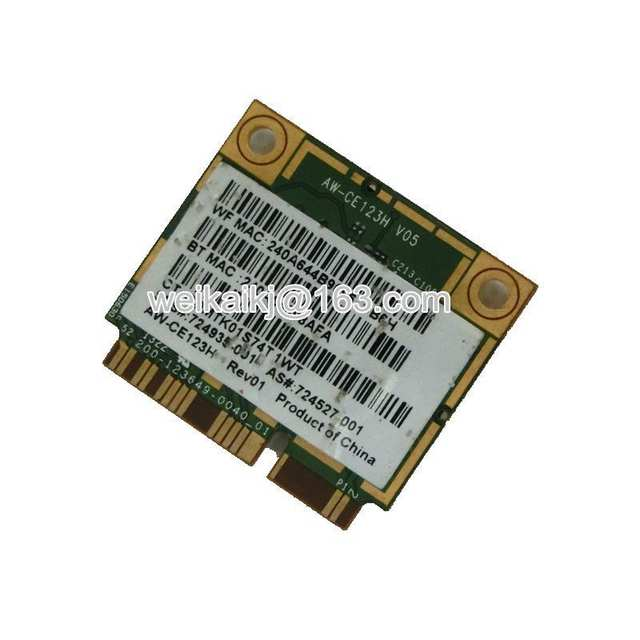 US $18 99 |BroadCom BCM4352 BCM94352HMB Half Mini PCIe PCI express Wireless  WIFI WLAN BT Bluetooth Card 802 11AC 867Mhz for 724935 001-in Network