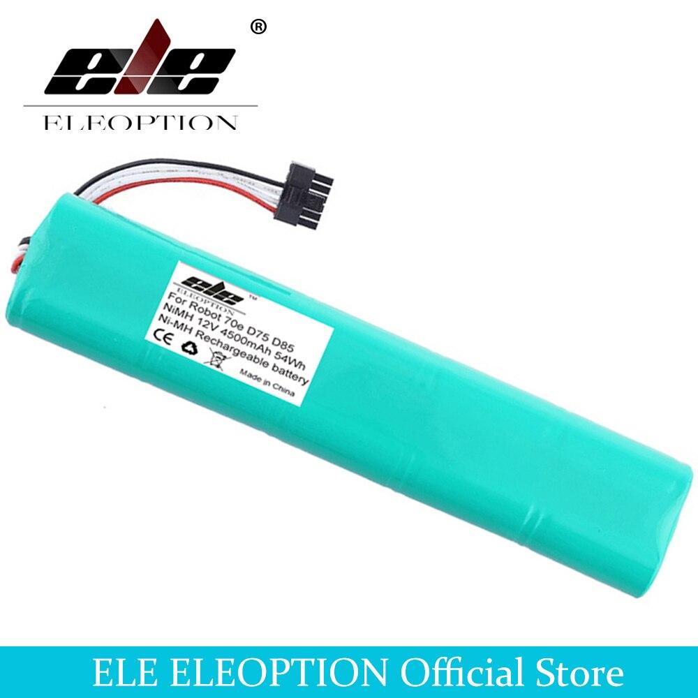 ELEOPTION 12V 4500mAh NI-MH Nova bateria de Substituição para Neato Botvac 4.5Ah 70e 75 80 85 D75 D8 D85 bateria Aspirador de pó