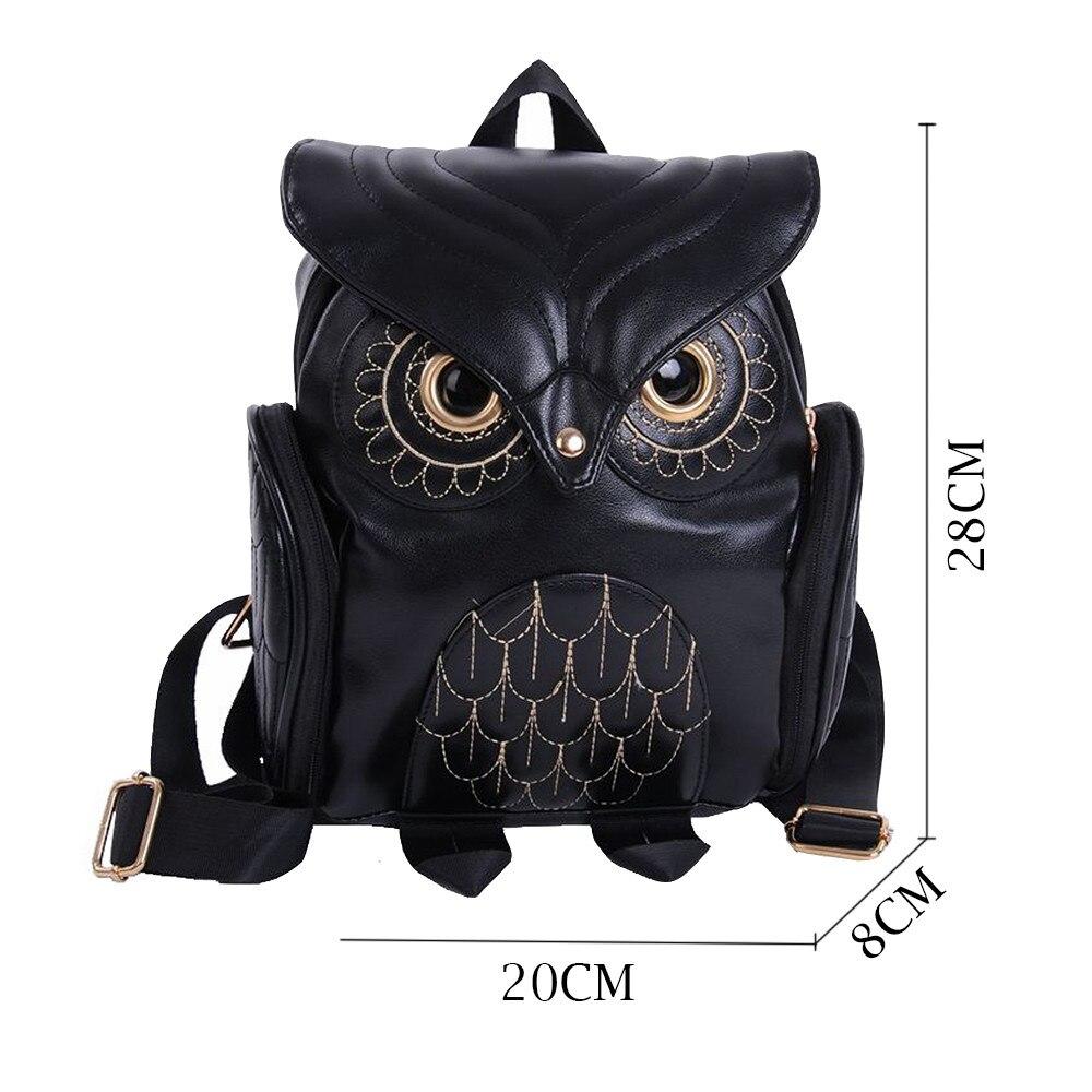 Cute Owl Fashion Backpacks Cartoon Women Backpack Softback School Bags Teenage Backpacks for Girls #YL5
