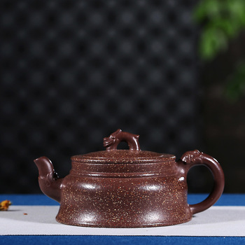 "Recommended pure manual mud ""dragon world"" seven colors special daily provisions tea kettle quality goods"