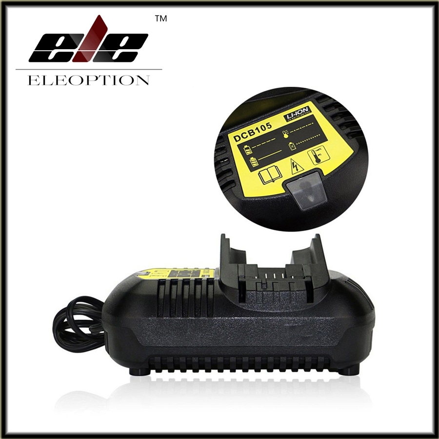 Power Tool Battery Charger for Dewalt DCB101 DCB105 DCB200 DCB201 D-65510 NEW 20 V Li-ion Free Shipping