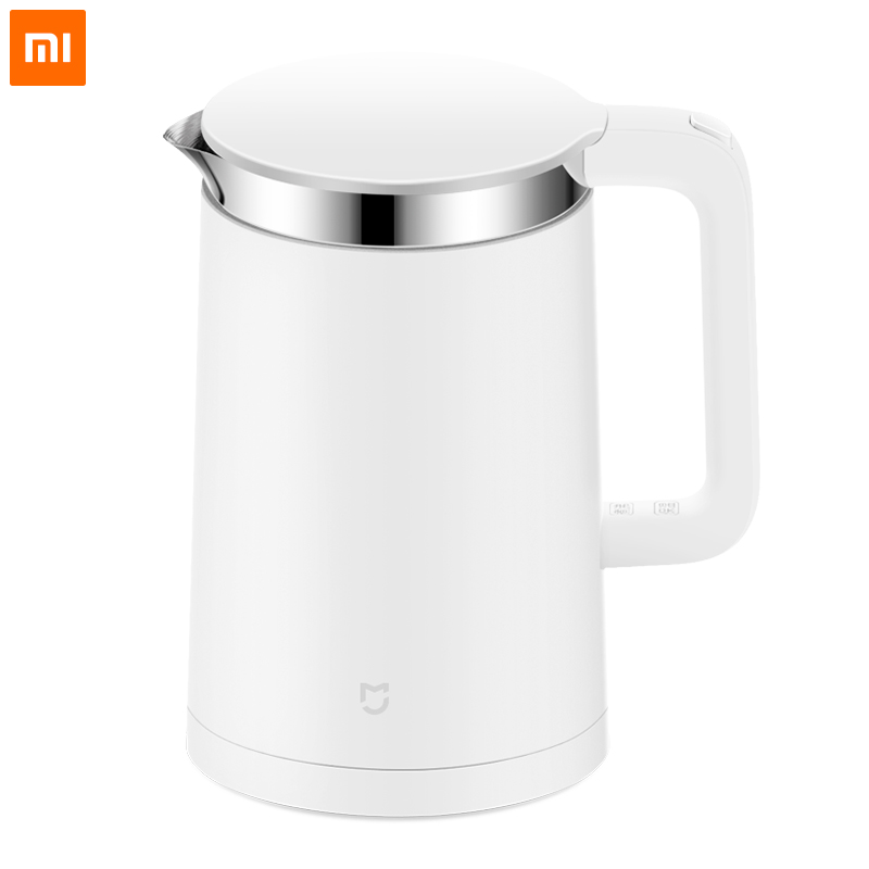 Original Xiaomi Mijia Thermostatic Electric Kettle 1.5L Control by Mobile Phone App 12 Hours Constant Temperature Smart Teapot