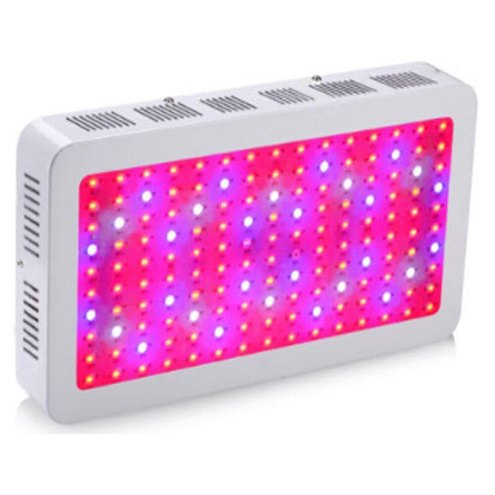 LED à spectre complet élèvent la lumière 1500 W 150 LED élèvent la lampe de spectre complet de panneau léger pour des plantes de Veg de floraison