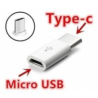 Convertitore di USB-C adattatore tipo c maschio per Xiaomi Mi 8 6 A2 mi6 Mi8 oneplus 5 5t 2 6T Letv le eco le 2 le2 cavo telefonico usbc