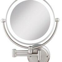 Zadro GLAW45 свет затемнения Двусторонняя гламур зеркало настенное крепление Атлас Никель