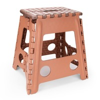 Living Plastic Folding Step Stool 15 inch Height Premium Foldable Stool for Kids & Adults Kitchen Garden Bathroom Stepping Stool