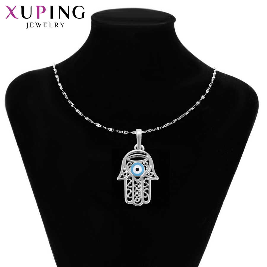 Xuping Fashion Temperament Necklace Pendant Environmental Copper for Women Christmas Jewelry Gifts S29-31719