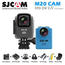 Original SJCAM M20 wifi Action Camera Sport SJ Cam Underwater 4K Wifi Gyro Mini Camcorder 2160P HD 16MP RAW Format Waterproof DV