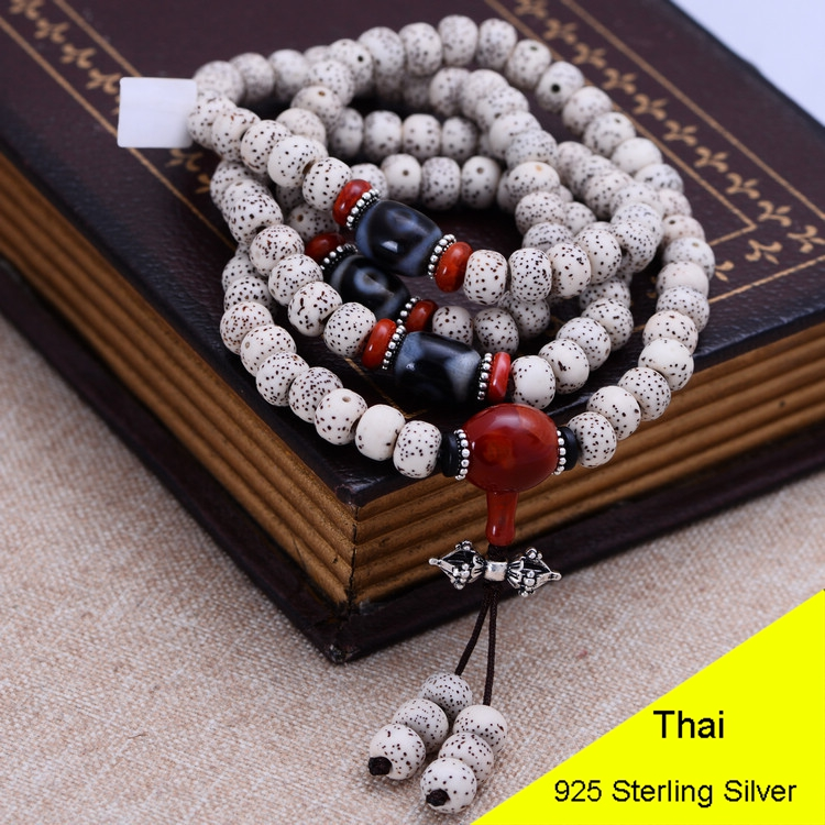 75cm 108Pcs Bodhi Bead Buddhist Beads Jewelry Making Mala Prayer Stone Tibetan Buddhism Chakras Meditation Bracelet XYPT01 aaa 4mm natural olivine beaded bracelet tibetan buddhist prayer beads necklace gourd mala prayer bracelet for meditation